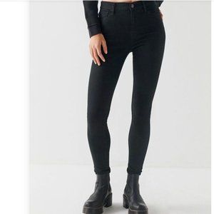 NEW UO BDG Twig High Rise Jeans Black Sz 25